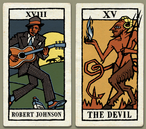 Johnsona devil tarot