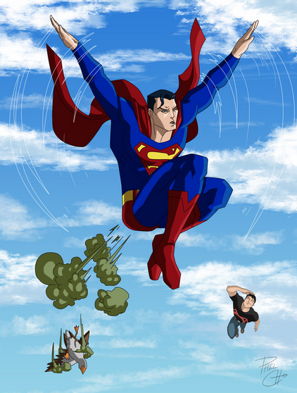 superman farts